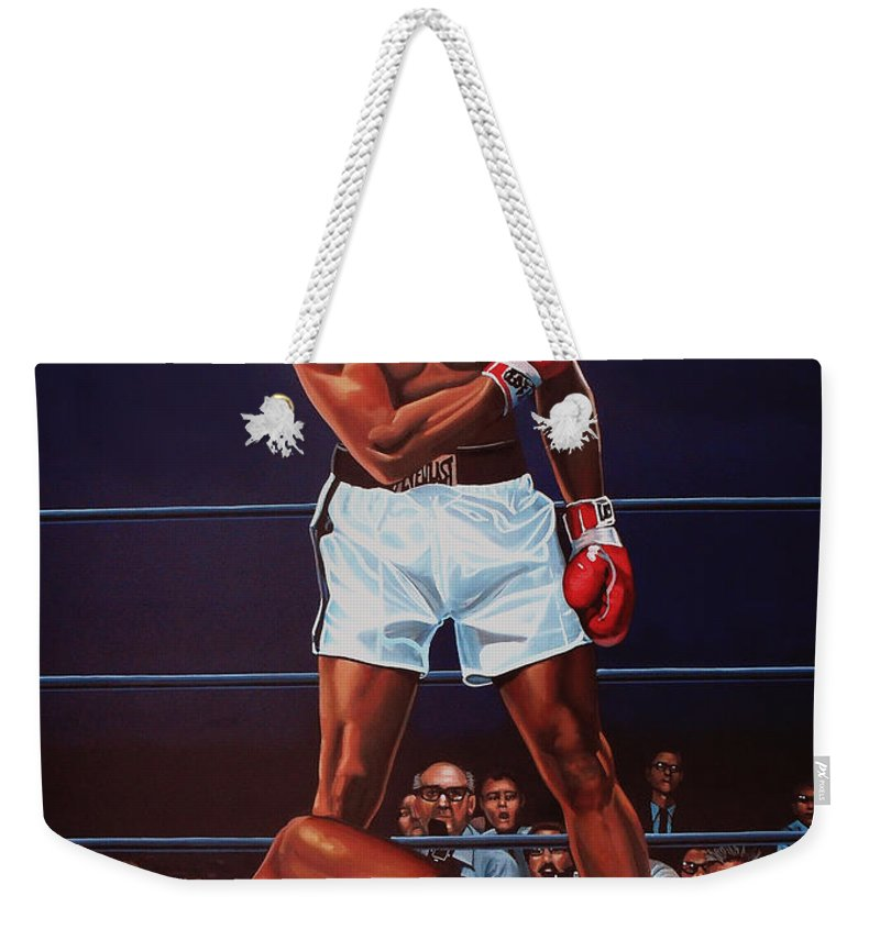 Ring Paintings Weekender Tote Bags