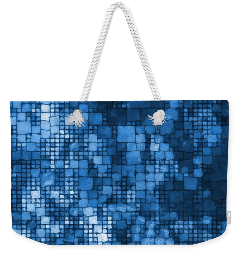 Multitude Weekender Tote Bag featuring the digital art Multitude-04 by RochVanh