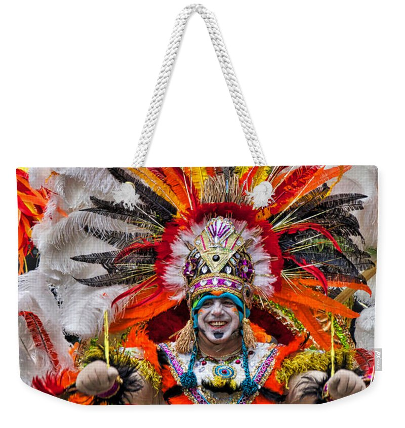 Mummer Weekender Tote Bag featuring the photograph Mummer Wow by Alice Gipson