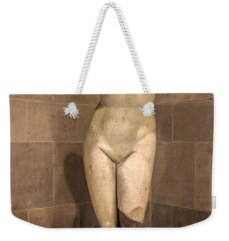 Museum Weekender Tote Bag featuring the photograph Museum Series 09 by Carlos Diaz