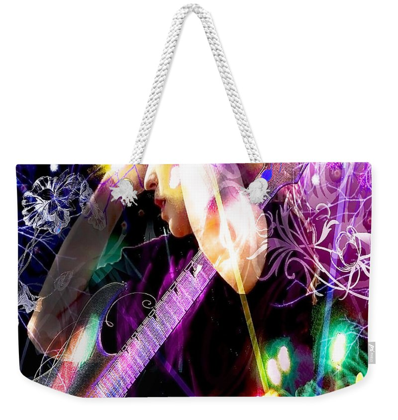 Musical Lights Weekender Tote Bag featuring the photograph Musical Lights by Mechala Matthews