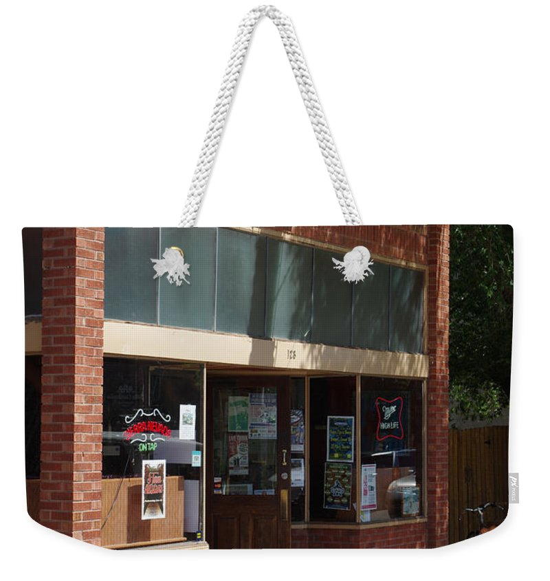 Colorado Photographs Weekender Tote Bag featuring the photograph My Bar by Gary Benson