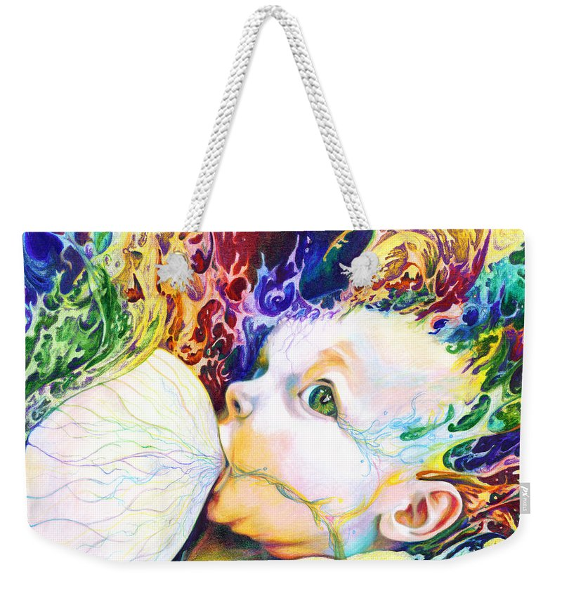 Dreams Weekender Tote Bag featuring the mixed media My Soul by Kd Neeley