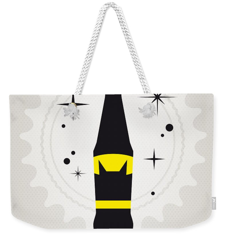 Batman Weekender Tote Bag featuring the digital art My Super Soda Pops No-07 by Chungkong Art