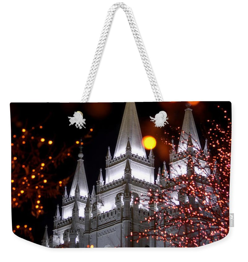 My Take Weekender Tote Bag featuring the photograph My Take by Chad Dutson