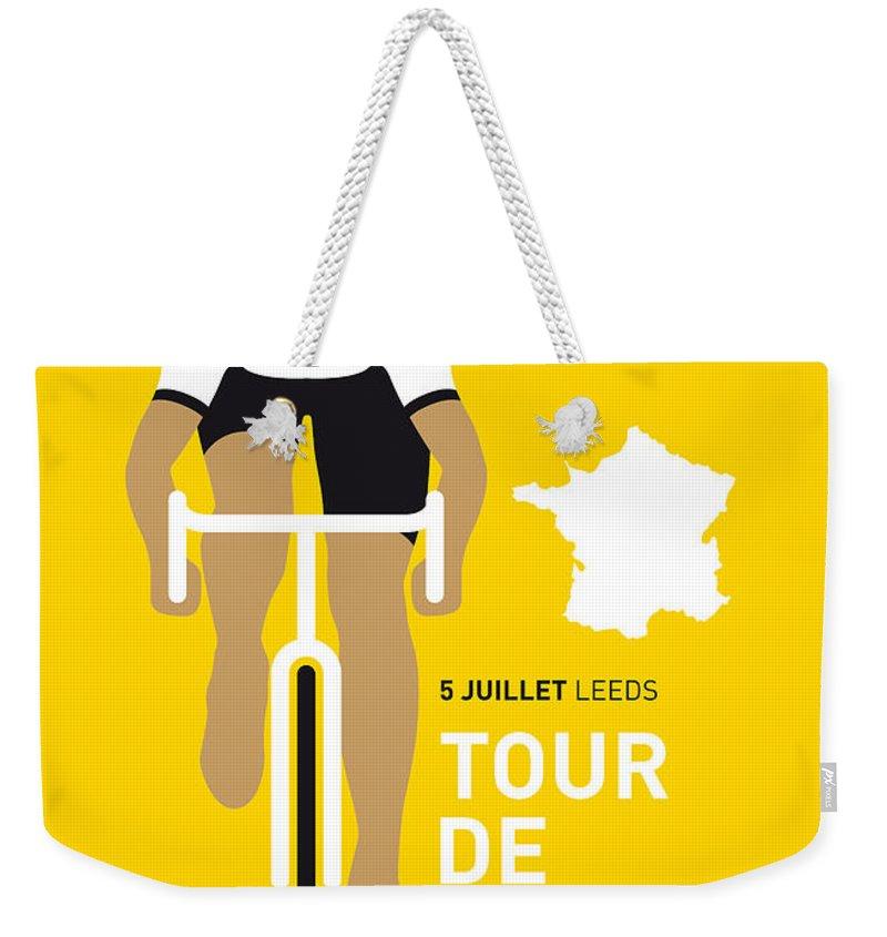 Bicycle Weekender Tote Bags