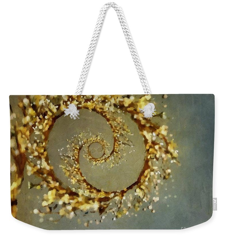 Tree Weekender Tote Bag featuring the painting Mystical Willow by RC DeWinter