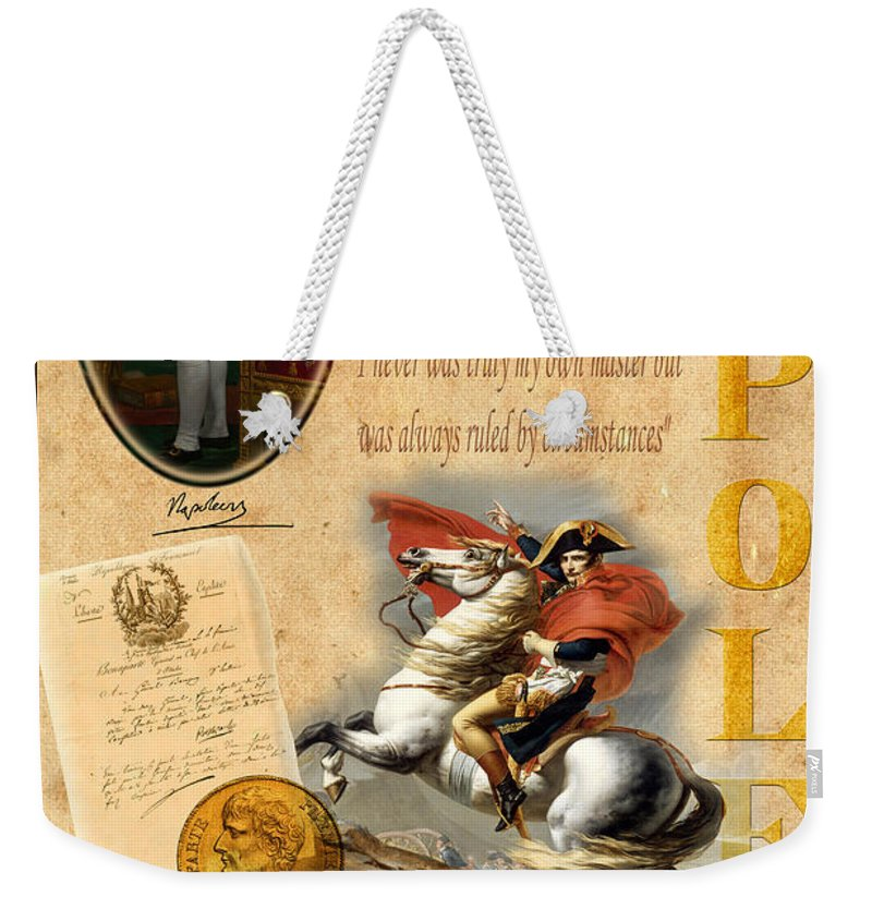 Napoleon Weekender Tote Bag featuring the photograph Napoleon by Andrew Fare