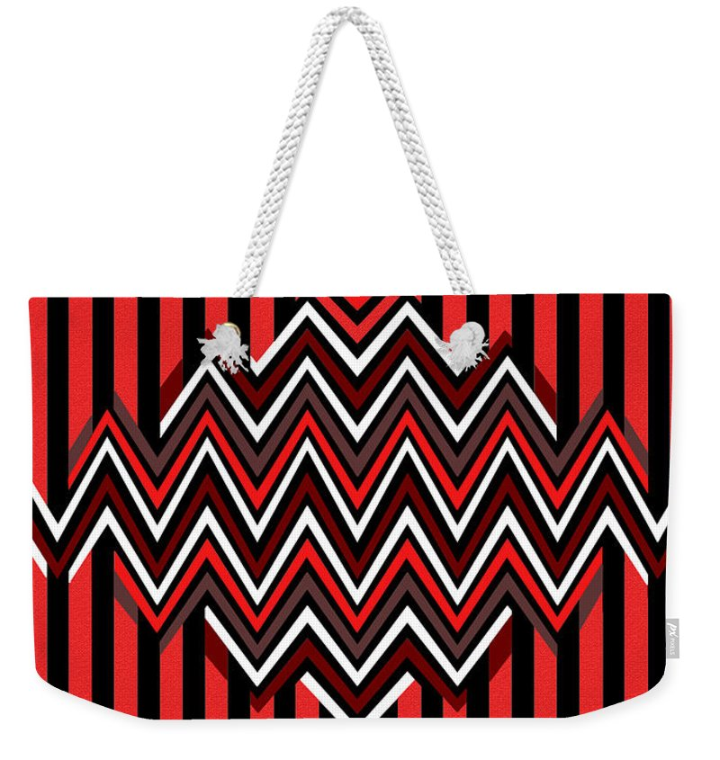 Native Weekender Tote Bag featuring the painting Native by Methune Hively