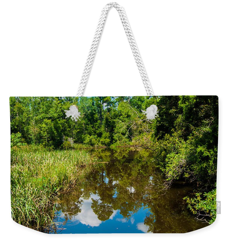 Uwf Weekender Tote Bag featuring the photograph Natural Overgrowth by Jon Cody