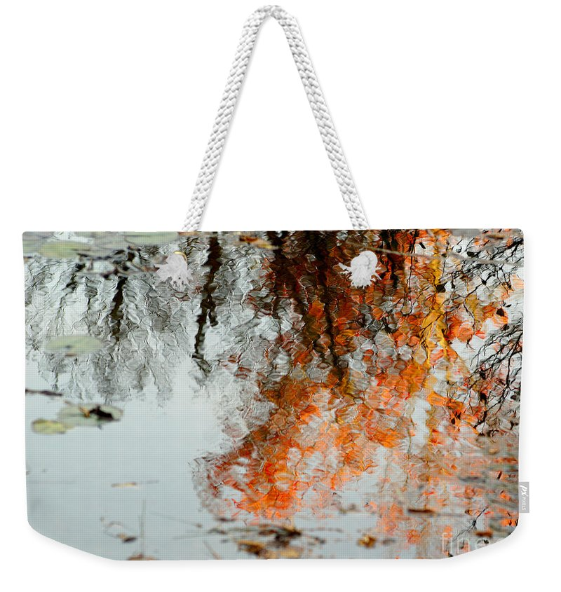 Tree Weekender Tote Bag featuring the photograph Natural Paint Daubs by Aimelle