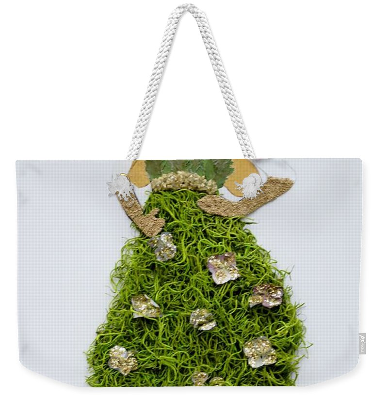 Nature's Queen Weekender Tote Bag featuring the photograph Nature Fairy by Sonali Gangane