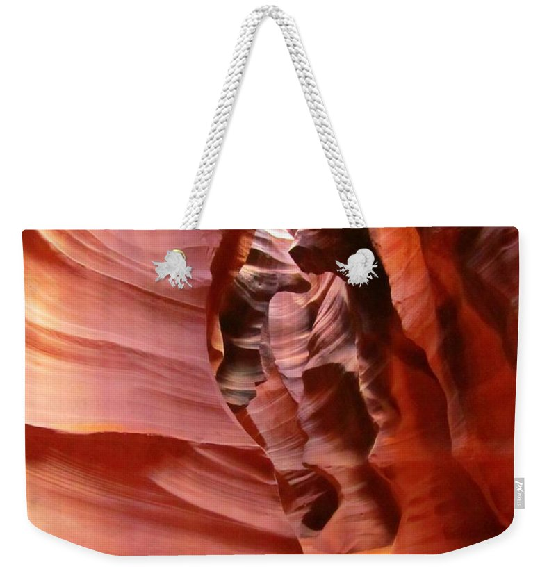 Natures Art Weekender Tote Bag featuring the photograph Natures Art by John Malone