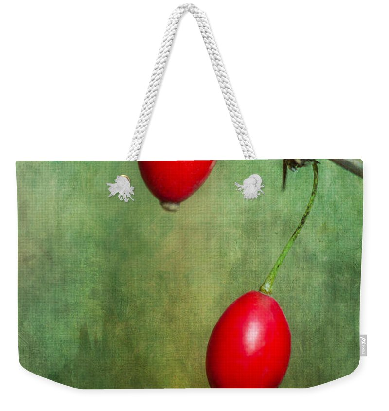 Nature's Baubles Weekender Tote Bag featuring the photograph Nature's Baubles by Dale Kincaid