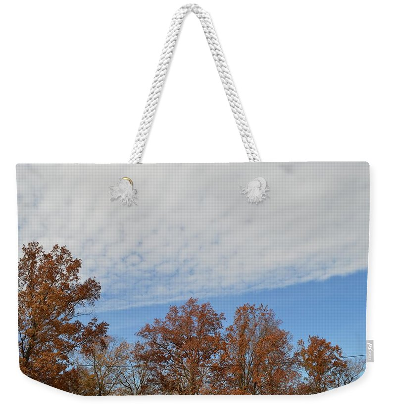 Canvasprints Weekender Tote Bag featuring the photograph Nature's Brush Strokes by Sonali Gangane