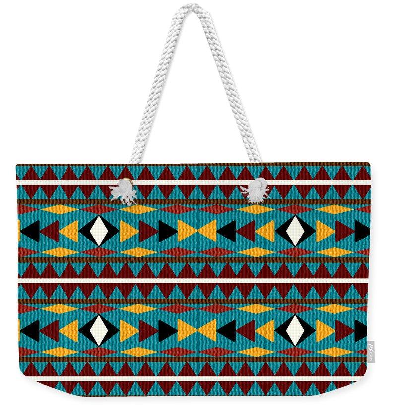 Southwestern Weekender Tote Bags