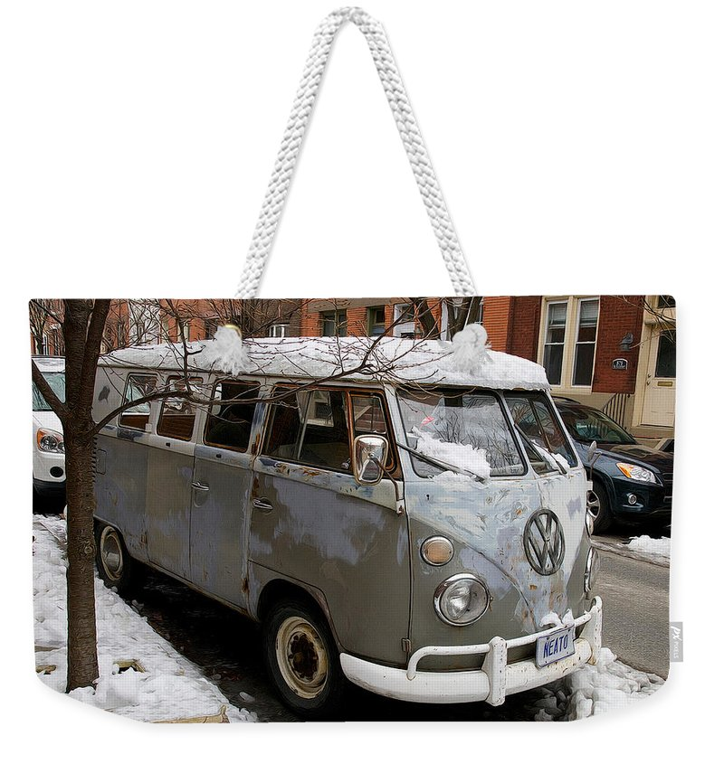 Neato Weekender Tote Bag featuring the photograph Neato by Alice Gipson