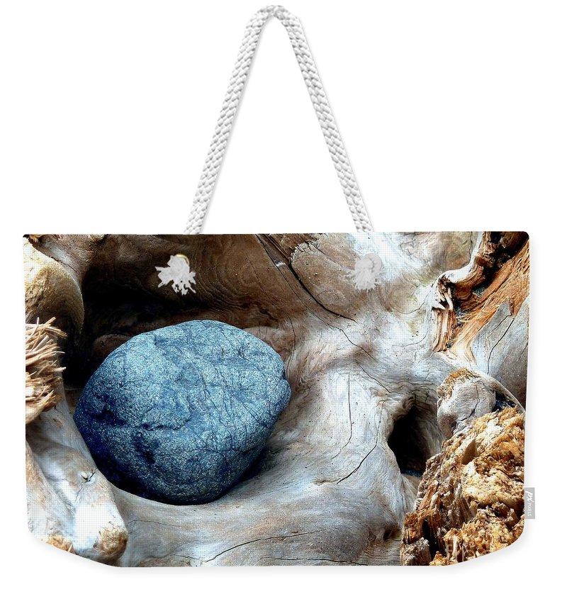 Abstract Weekender Tote Bag featuring the photograph Nestle by Lauren Leigh Hunter Fine Art Photography