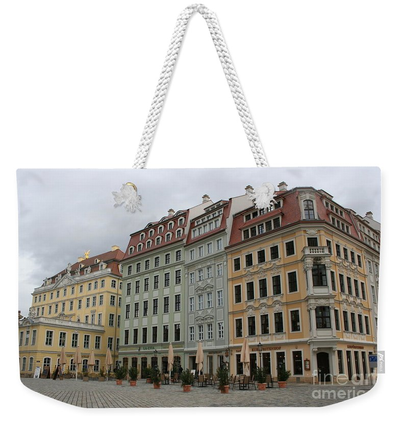Neumarkt Weekender Tote Bag featuring the photograph Neumarkt - Dresden - Germany by Christiane Schulze Art And Photography