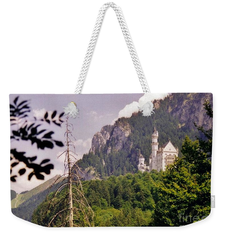 Castle Weekender Tote Bag featuring the photograph Neuschwanstein Castle by John Malone