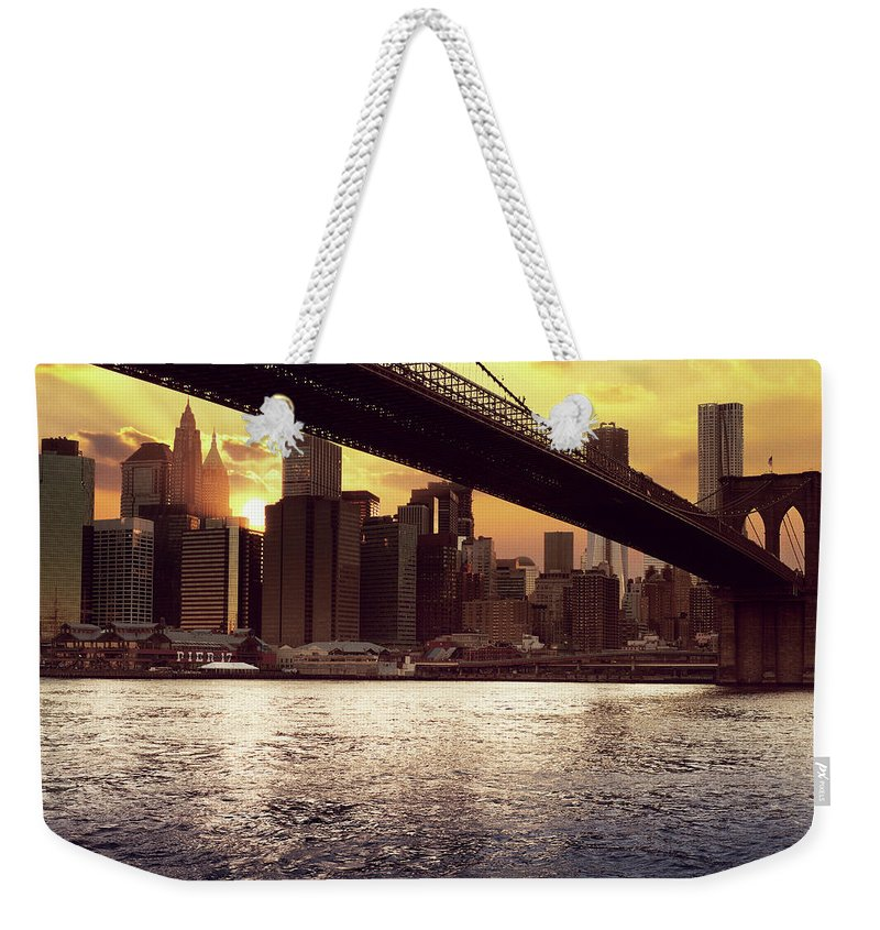 Tranquility Weekender Tote Bag featuring the photograph New Beginnings by Aleks Ivic Visuals