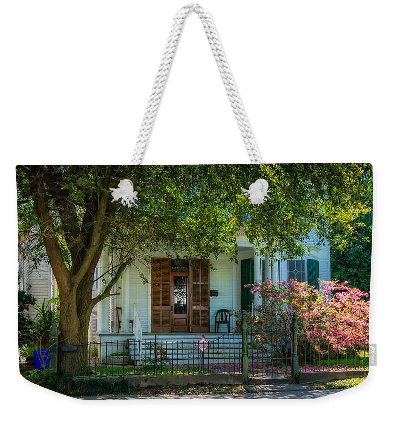 Home Weekender Tote Bag featuring the photograph New Orleans Home 8 by Steve Harrington