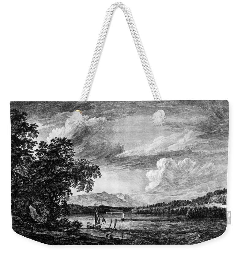 1761 Weekender Tote Bag featuring the painting New York Poughkeepsie by Granger