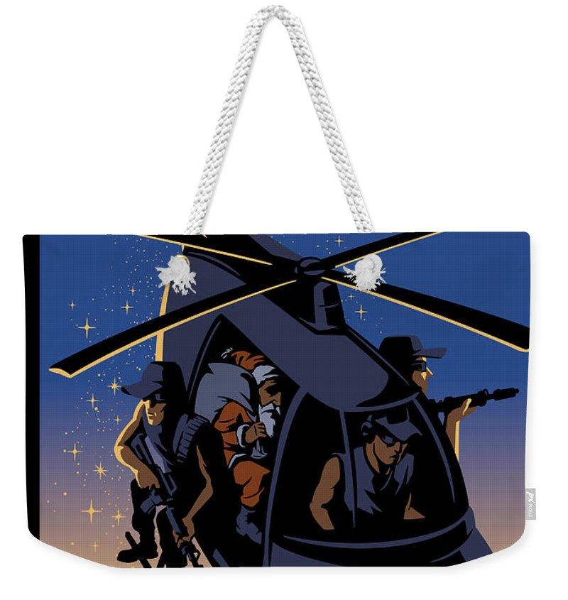 Violent Night Weekender Tote Bag