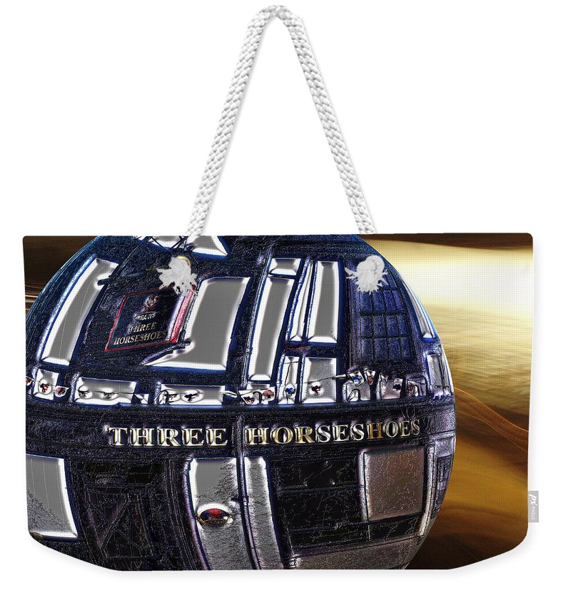 Pub Weekender Tote Bag featuring the photograph Newly Discovered Planet Uranalky by Pennie McCracken