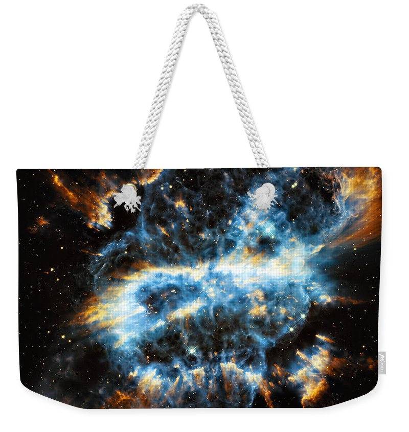 Ngc Weekender Tote Bag featuring the photograph Ngc 5189 by Ricky Barnard