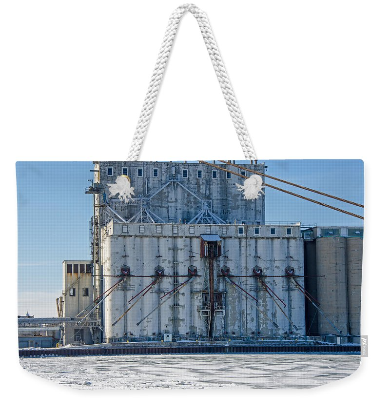 Nidera Weekender Tote Bag featuring the photograph Nidera Storage 2 by Susan McMenamin