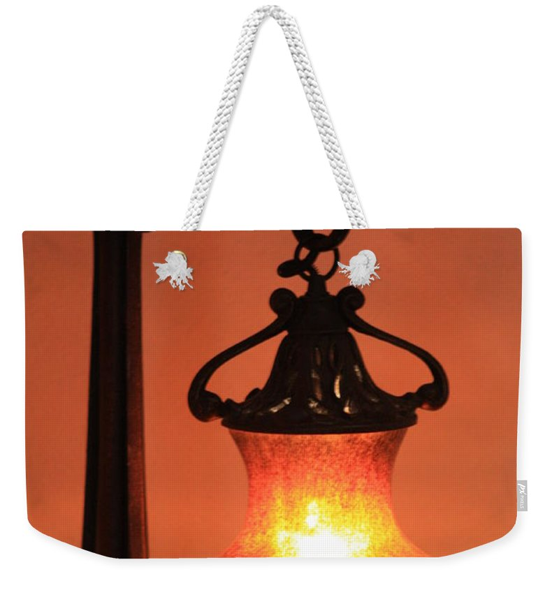 Evening Weekender Tote Bag featuring the photograph Night by Brandi Maher
