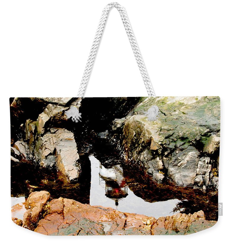Mountains Weekender Tote Bag featuring the photograph Night Light by Greg Fortier