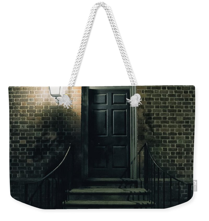 Home Weekender Tote Bag featuring the photograph Night Light by Margie Hurwich