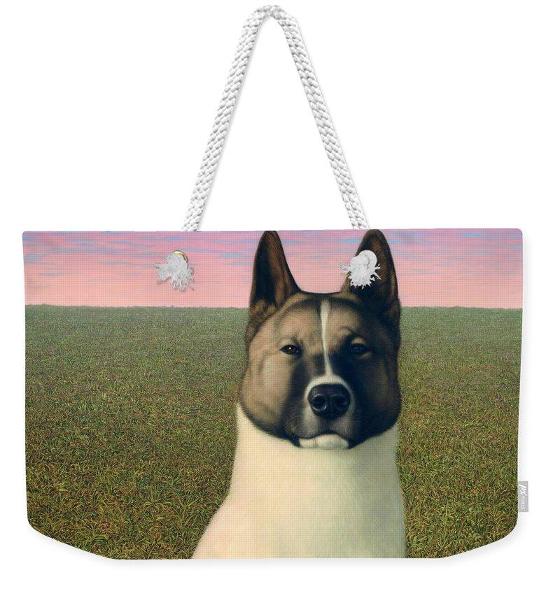 Husky Weekender Tote Bags