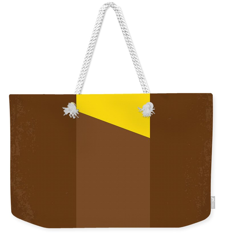 Willy Weekender Tote Bag featuring the digital art No149 My Willy Wonka And The Chocolate Factory Minimal Movie Poster by Chungkong Art