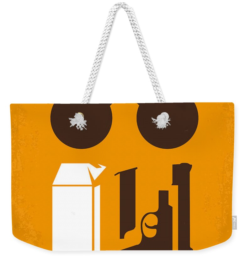 Leon Weekender Tote Bag featuring the digital art No239 My LEON minimal movie poster by Chungkong Art