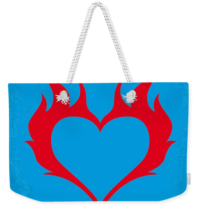 Wild Weekender Tote Bag featuring the digital art No337 My Wild At Heart Minimal Movie Poster by Chungkong Art
