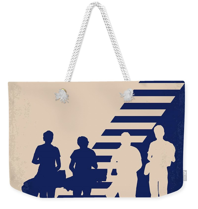 Stand Weekender Tote Bag featuring the digital art No429 My Stand By Me Minimal Movie Poster by Chungkong Art