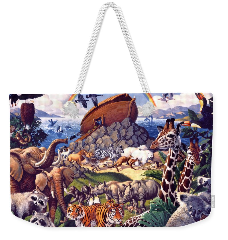 Biblical Weekender Tote Bags
