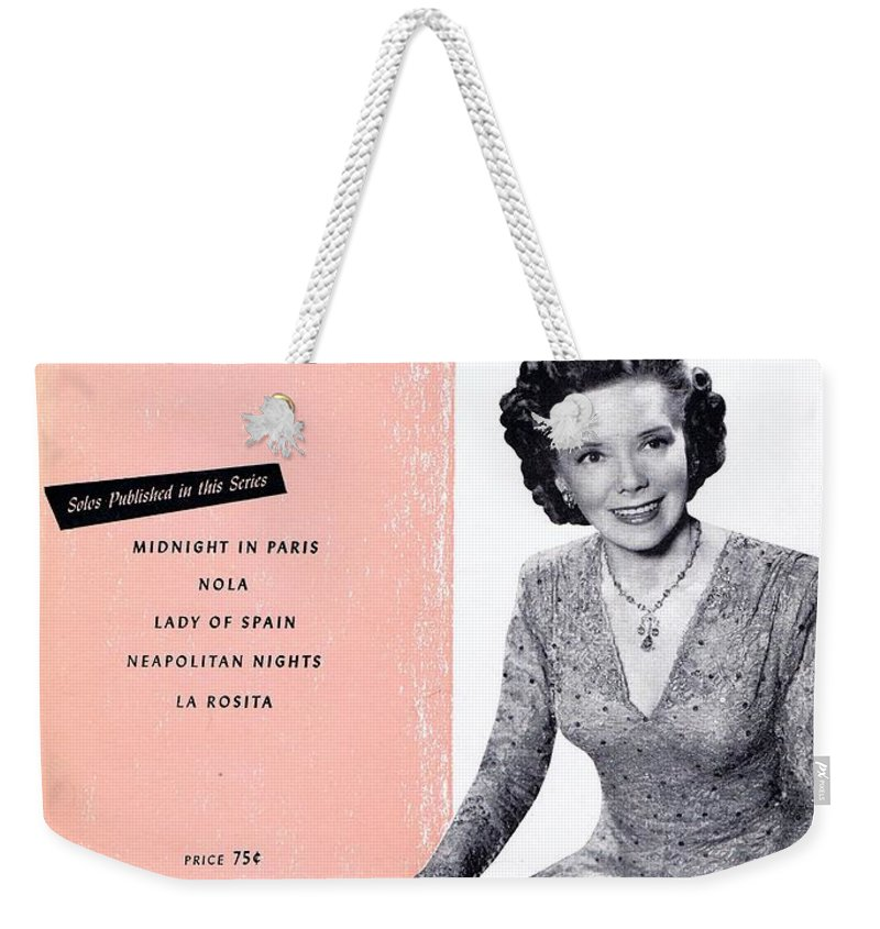 Nostalgia Weekender Tote Bag featuring the photograph Nola by Mel Thompson