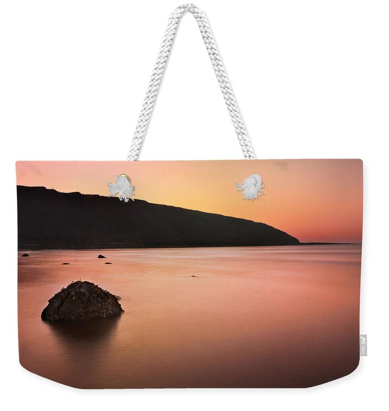 Bay Weekender Tote Bag featuring the photograph North Sea by Svetlana Sewell