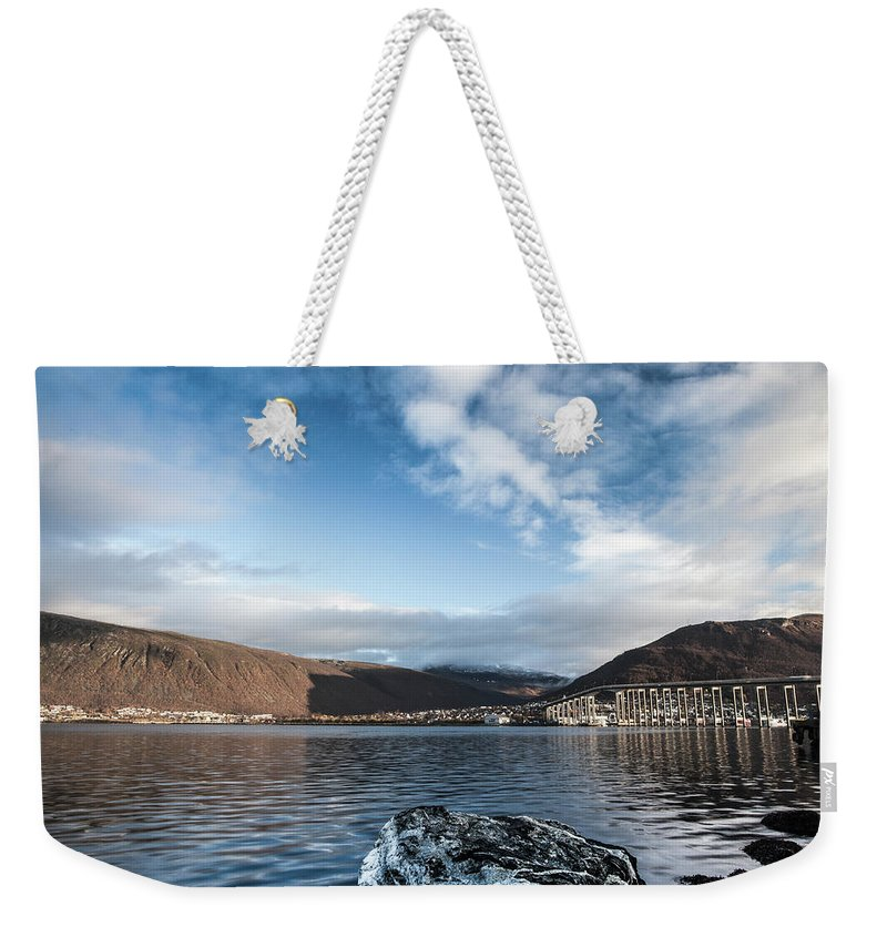 Tromso Weekender Tote Bag featuring the photograph Norway Day Shot by Jordanwhipps1987