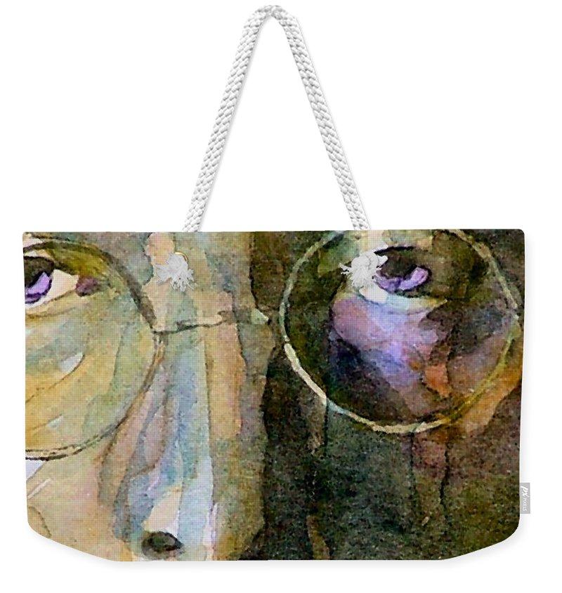 John Lennon Weekender Tote Bags
