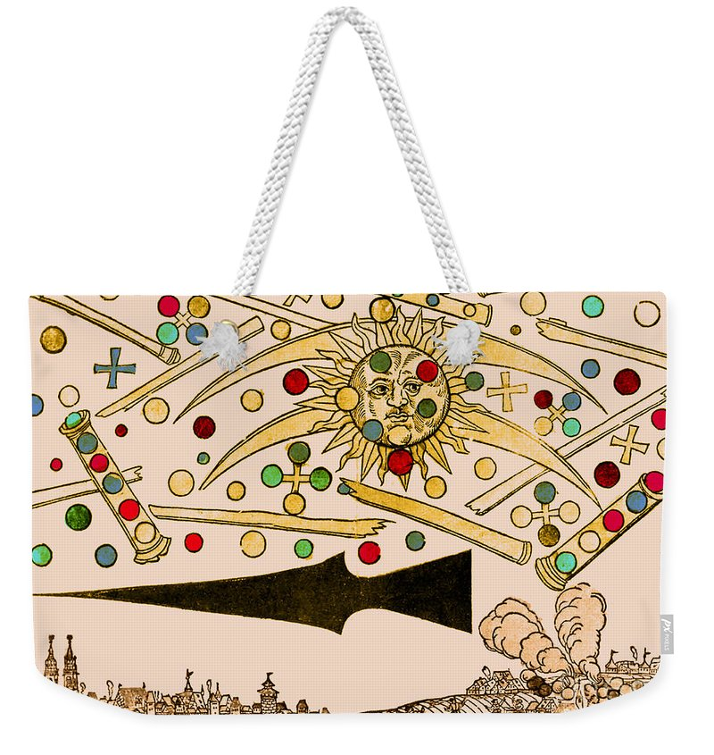 Science Weekender Tote Bag featuring the photograph Nuremberg Ufo 1561 by Science Source