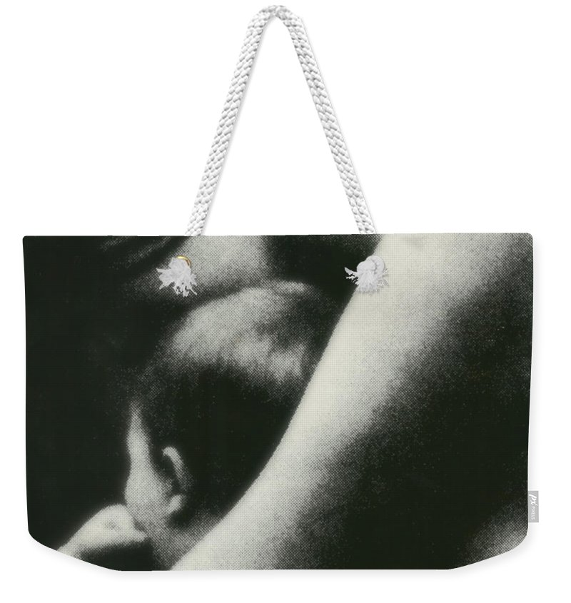 Nurturing Weekender Tote Bag featuring the photograph Nurturing by Rory Sagner