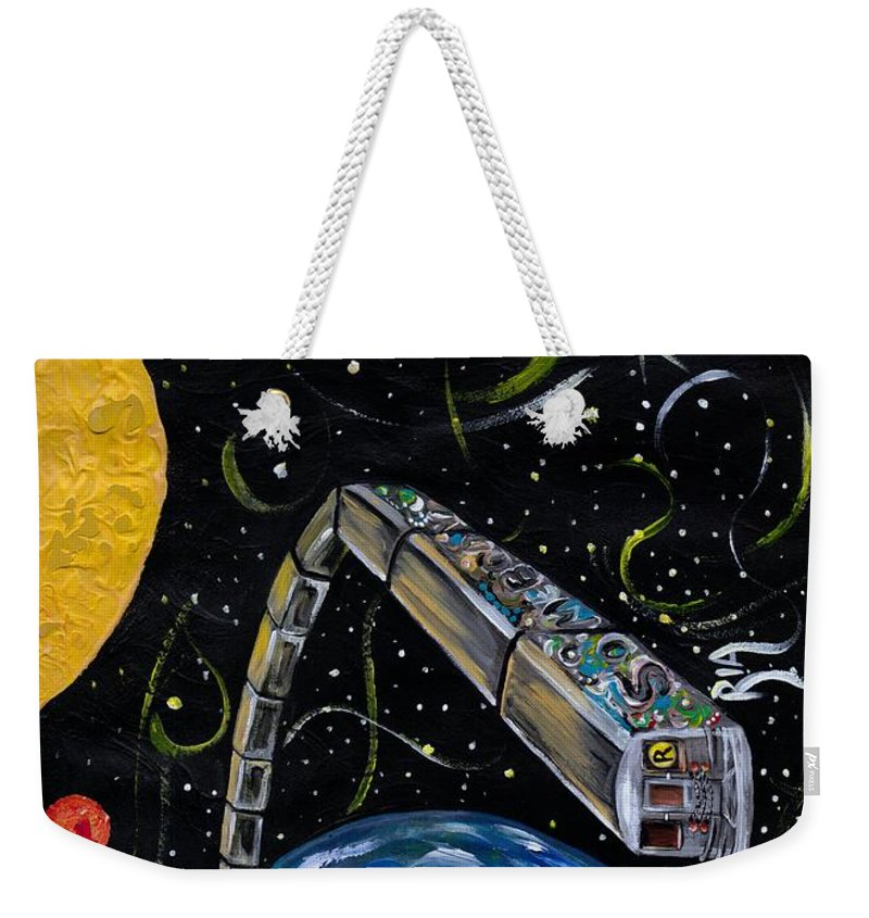 Beautiful Weekender Tote Bag featuring the photograph Ny State Of Mind by Artist RiA