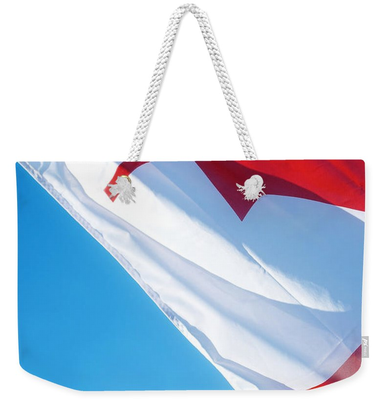 Canada Weekender Tote Bag featuring the photograph O Canada by Lisa Knechtel