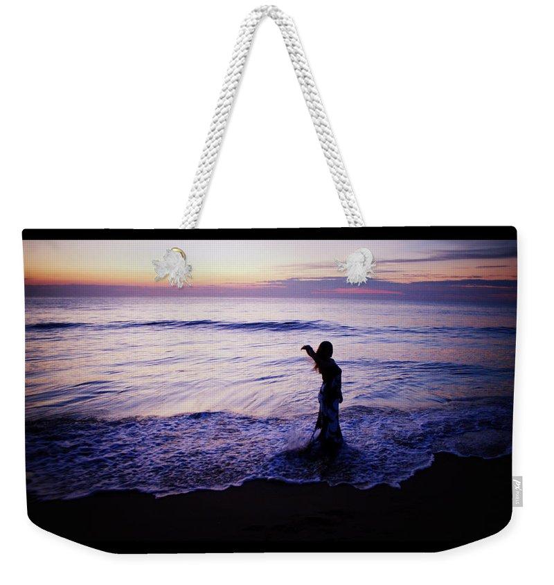 Ocean Mermaid Weekender Tote Bag featuring the photograph Ocean Mermaid by Shannon Louder