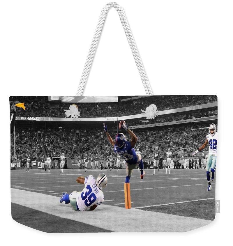 New York Giants Weekender Tote Bags